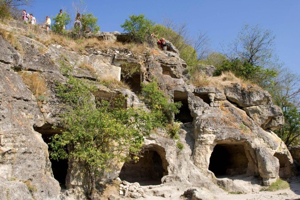 Czufut-Kale skalne miasto na Krymie
