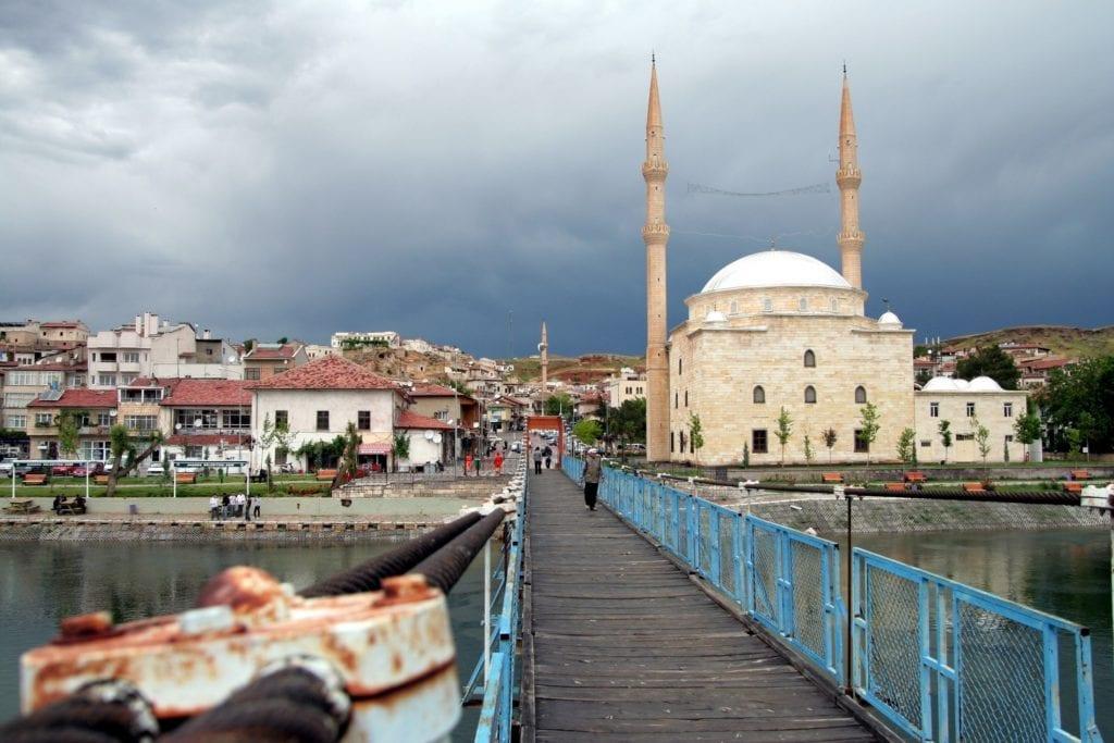 Miasto Avanos w Turcji