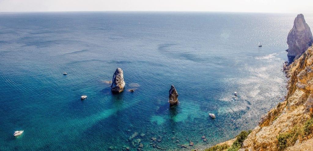 Południowy Krym, wybrzeże