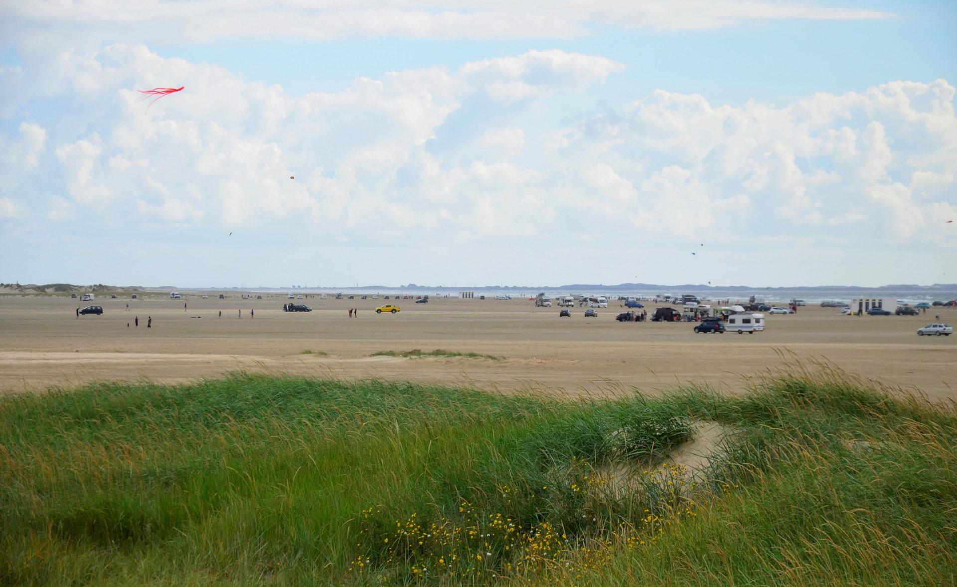 Największa plaża w Europie, Romo, Dania