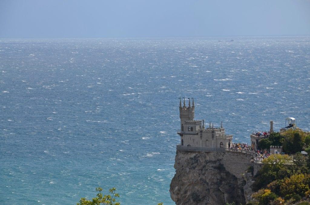 Jaskółcze Gniazdo, zamek na Krymie