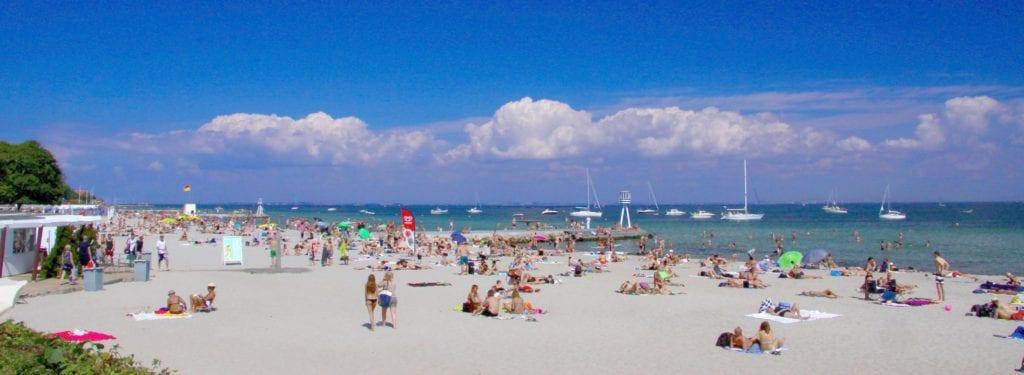 Bellevue Beach koło Kopenhagi, Dania