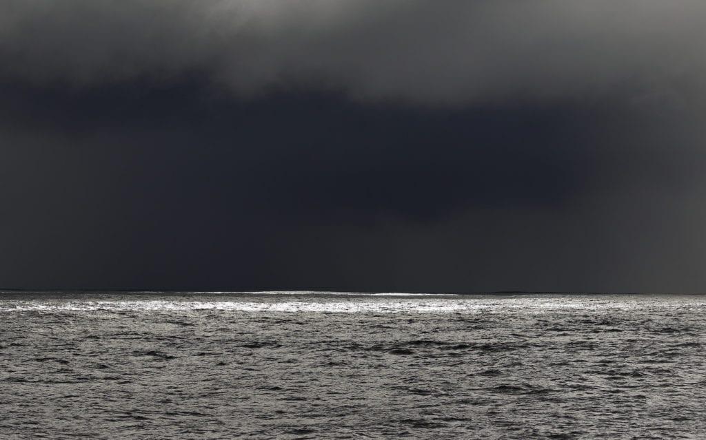 Burza na oceanie
