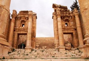 Jerash zabytkowa architektura