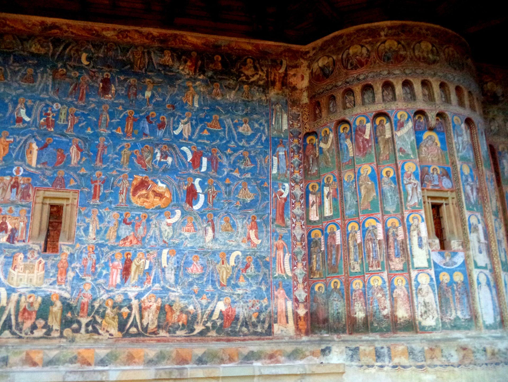 Malowane monastyry, Bukowina