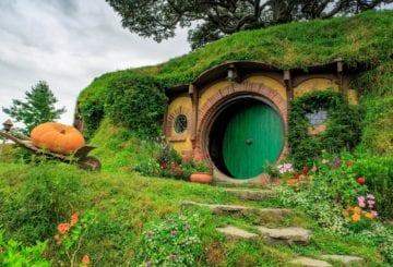 domki hibbitów nowa zelandia