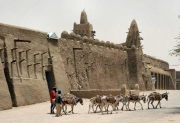 Zabytki w Timbuktu