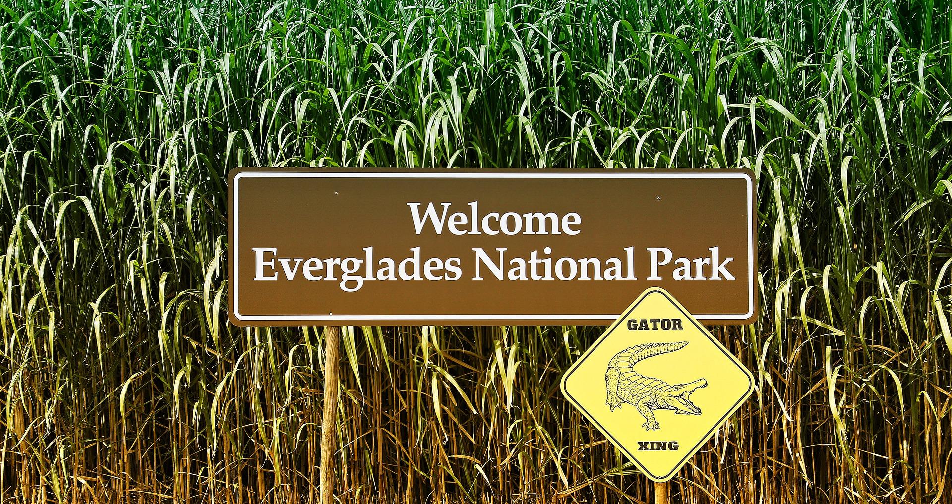 znak Everglades National Park