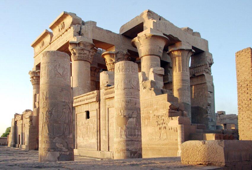 egipt ruiny