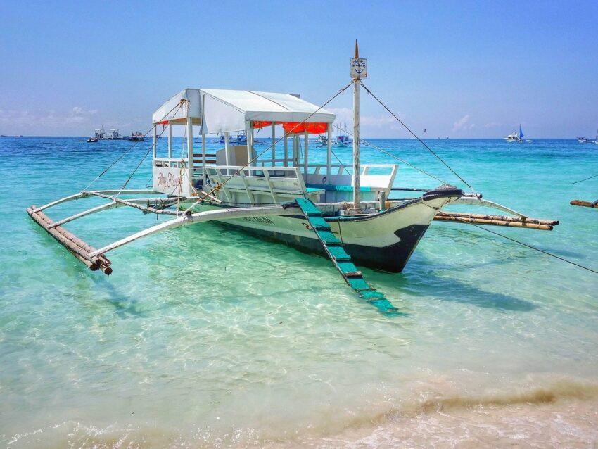 filipiny łódka