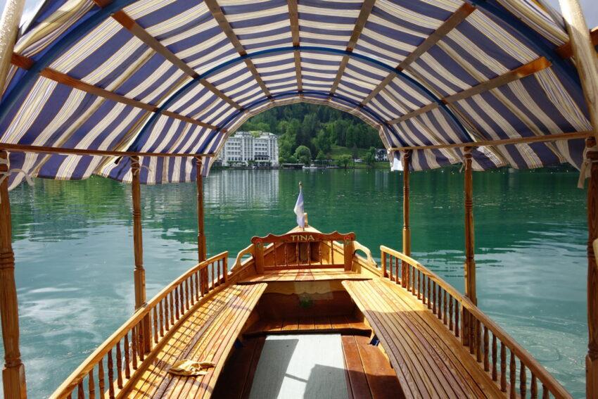 łódka bled