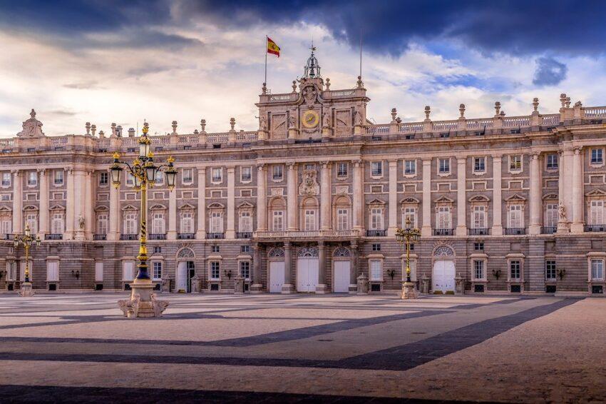 pałac madryt