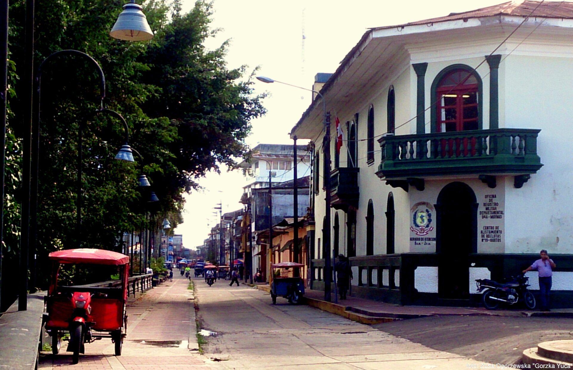 Iquitos - podróż do Amazonii