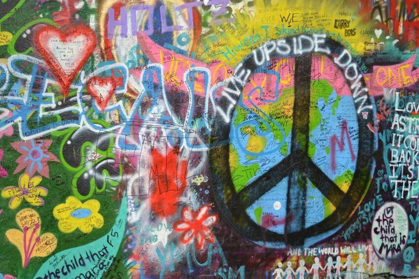 praga graffiti