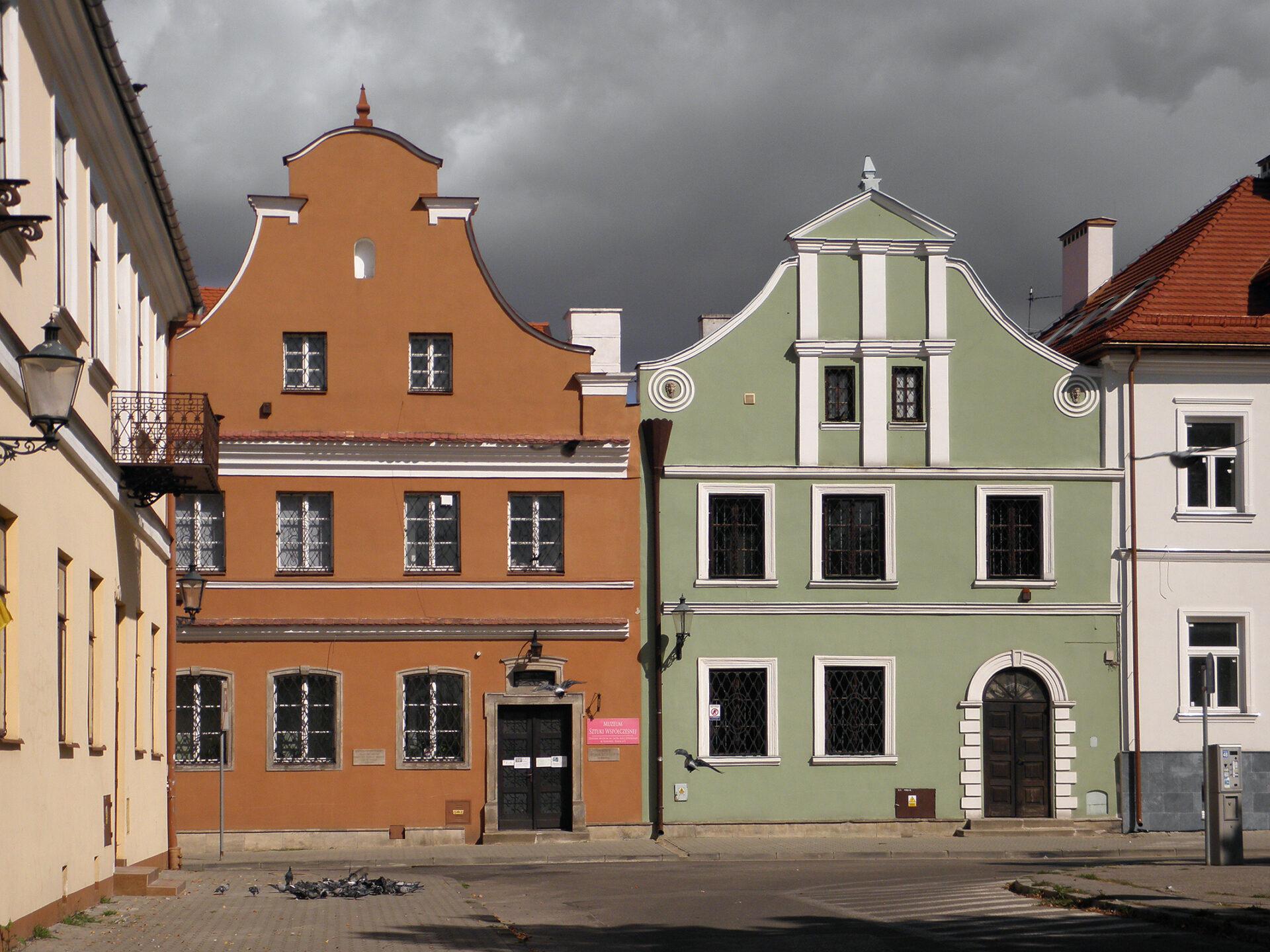 Domy Gąski i Esterki, fot. Rafał Terkner