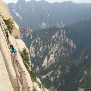 Szlak górski Huashan - Chiny