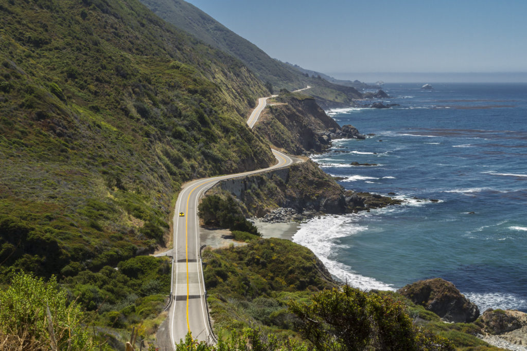 Kalifornijska jedynka | Big Sur
