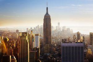 Panorama Nowego Jorku - widok na Empire State Building