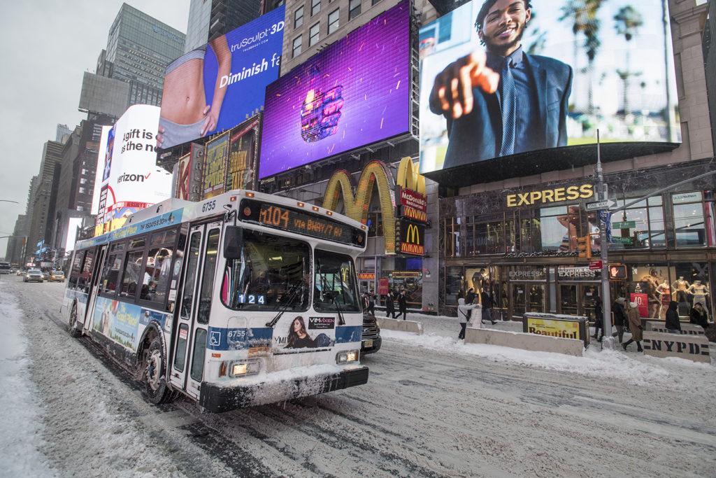 Nowy Jork autobus