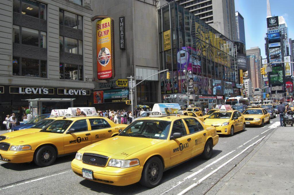 Nowy Jork taxi
