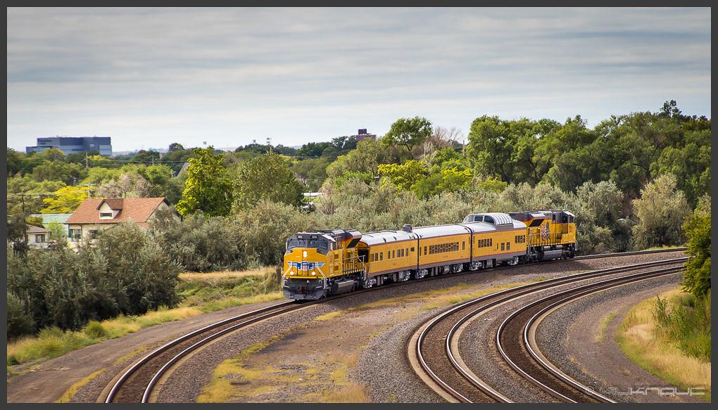 Pociągiem przez USA - Rail Days 2017