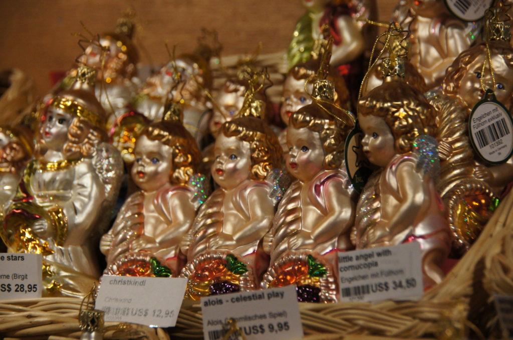 Boże Narodzenie w USA dekoracje w sklepach