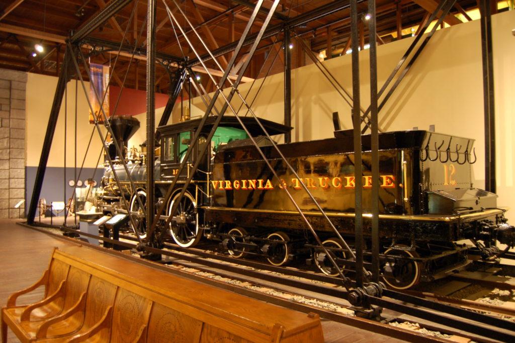 Muzeum kolei w Sacramento