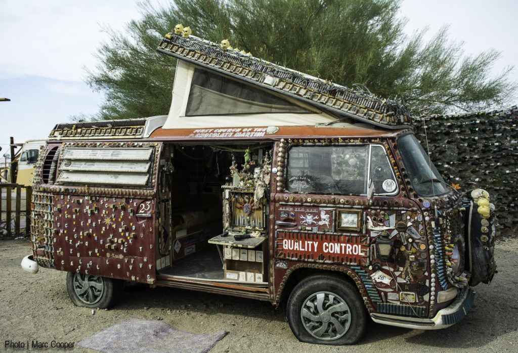 Slab City camper
