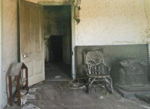 Siedziba pokojówki z Bodie